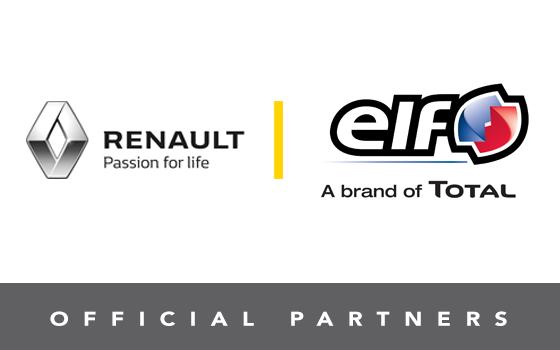 Partnership renault ELF