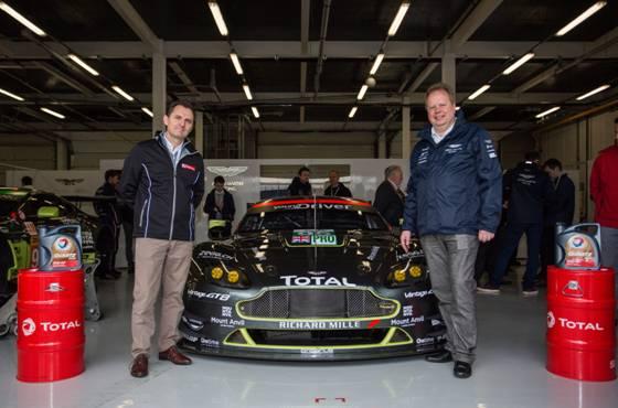 Partnership Aston Martin TotalEnergies