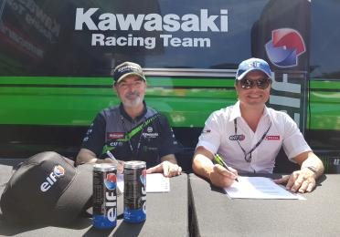 Rinnovo Accordo Total/Kawasaki